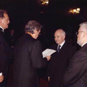 Ingreso de Janusz Kacprzyk como académico correspondiente para Polonia 15/05/2008 - 15/05/2008