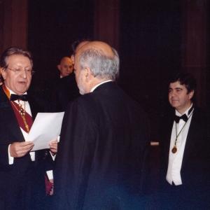 Ingreso de Juan Guzmán Tapia como académico correspondiente para Chile 17/01/2008 - 17/01/2008