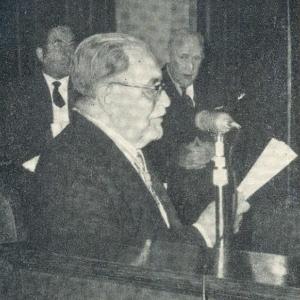 Ingrso de Cristóbal Massó Escofet como académico de número, 21/04/1960 - 21/04/1960