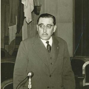 Ricardo Torres Sánchez en un acto académico - 16/05/1940
