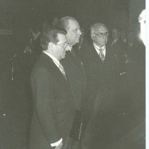 El ingreso del Excmo. Sr. Dr. D. Raymond Barre 11-23-1984  - 23/11/1984