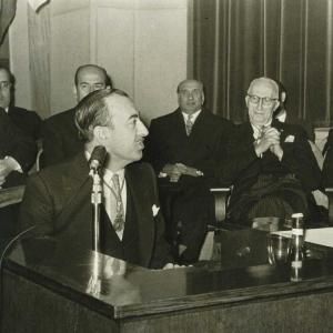 Ingreso de José María Sainz De Vicuña y García - Prieto como académico de número, 10/01/1960 - 10/01/1960