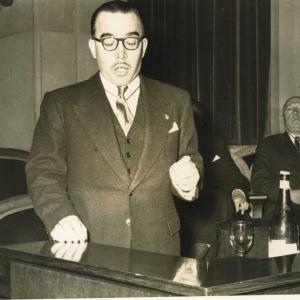 Ingreso de Antonio Goxens Duch como académico de Número, 28/01/1954  - 28/01/1954
