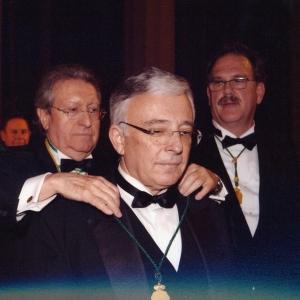 Ingreso de Mugur Isarescu como académico correspondiente para Rumanía 21/02/2008  - 21/02/2008