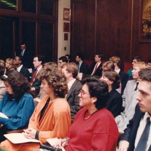 Asistentes de ingreso de Harry L. Hansen como académico correspondiente Estados Unidos 28/10/1986 - 28/10/1986