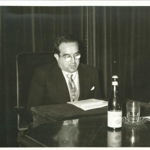 Ingreso del Ilmo. Sr. D. José Luis Urquijo de la Puente como Académico Correspondiente para Madrid, 19/05/1960  - 19/05/1960