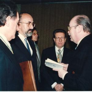 Ingreso del Ilmo. Sr. Dr. D. Álvaro Cuervo García (13 de Junio de 1991) - 13/06/1991
