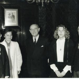 Ingreso del Excmo. Sr. Dr. D. Raymond Barre, 23 de Noviembre de 1984 - 23/11/1984