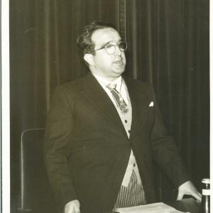 Ingreso del Ilmo. Sr. D. José Luis Urquijo de la Puente como Académico Correspondiente para Madrid, 19/05/1960 - 05-19-1960