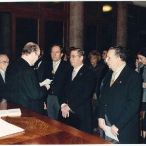 Ingreso del Ilmo. Sr. Dr. D. Ubaldo Nieto De Alba, 30-11-1989 - 30/11/1989