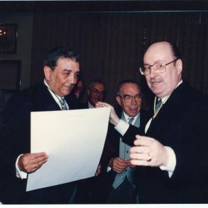 Ingreso del Ilmo. Sr. Dr. D. José María Requena Rodríguez, 07 de Mayo de 1992  - 07/05/1992
