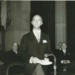 Ingreso Excmo. Sr. D. Juan de Arteaga y Piet (Marqués de la Vega Inclán). 21/11/65  - 21/11/1965