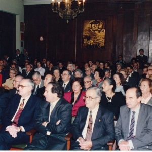 Asistentes al ingreso del Excmo. Sr. D. Abel Matutes Juan, 23-05-1991 - 23/05/1991