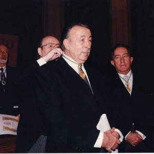 Ingreso como académico de número de Excmo.SR.DR.D.JORGE Carreras Llasana  - 15/02/1996