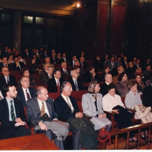 Ingreso como académico de número de Excmo.SR.DR.D.Jorge Carreras Llansana - 15/02/1996