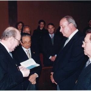 Ingreso del Ilmo. Sr. Dr. D. Rodolfo H. Pérez, 15 de Abril de 1999 - 15/04/1999