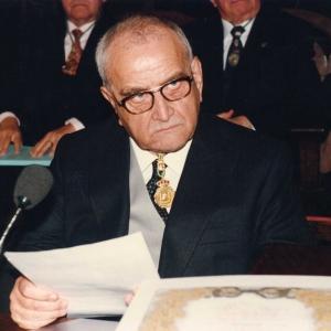 Ingreso del Excmo. Sr. D. Daniel Pagès Raventós, 18 de Abril de 1996 - 18/04/1996