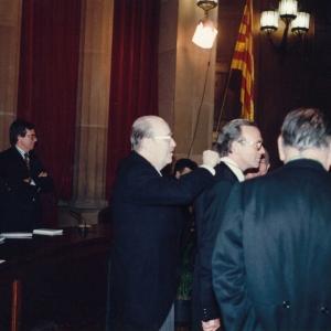 Ingreso como Académico de Número del Excmo.Dr.D.Isidro Fainè Casas, 3 de dicienmbre de 1992 - 03/12/1992