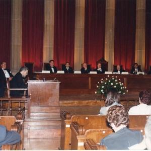 Ingreso del Excmo. Sr. Dr. D. Joan-Francesc Pont Clemente 28 de Octubre de 1999 - 28/10/1999