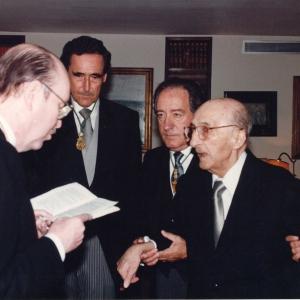 Ingreso del Excmo. Sr. D. Juan Sardà Dexeus , 14 de Junio de 1995 - 14/06/1995