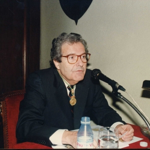 Ingreso como Académico de Número del Excmo. Sr. Dr. D. José M. Bricall Masip , 31 de Octubre de 1997 - 31/10/1997