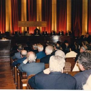 Asistentes al ingreso del Excmo. Sr. D. Claudio Colomer Marqués , 28 de Mayo de 1998  - 28/05/1998