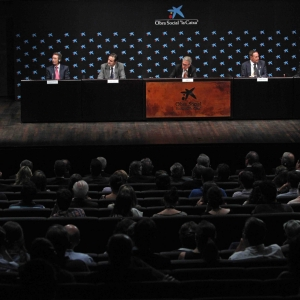 Ingreso del premio Nobel Dr. Joseph Stiglitz en la RACEF (14-09-2012) - 14/09/2012