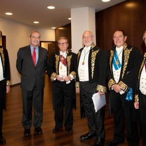Nobel Stiglitz en la Casa Macaya - 10/12/2012
