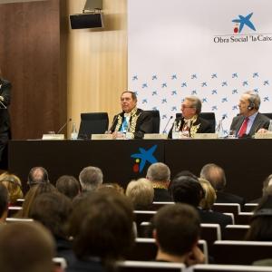 Conferencia del académico correspondiente Dr. Joseph Stiglitz, Premio Nobel 2001, (10-12-2012) - 10/12/2012