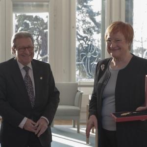 Excma. Sra. Dña. Tarja Halonen, Presidenta de la República de Finlandia - 10/02/2012