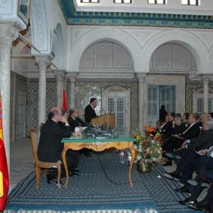 Solemne sesión académica en Túnez el 18 de marzo de 2006