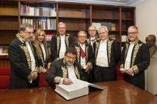 Ingreso de Enrique López como Académico Correspondiente para Castilla y León, 15/02/2018