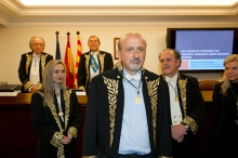 Admission in the RACEF of the Corresponding Academician for Greece Constantin Zopounidis