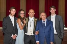 Ingreso como Académico Correspondiente para Extremadura de Ricardo Hernández Mogollón, 15/06/2017