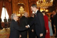 La RACEF participa en la imposición del Toisón de Oro a SAR la Princesa Leonor, 30/1/2018