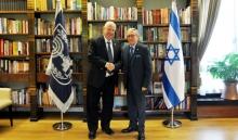 Gil Aluja se entrevista con el Presidente de Israel, Reuven Rivlin, 08/2/2018