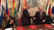 Acto Académico conjunto con la Universidad de La Rioja en San Millán de la Cogolla, 14/10/2016